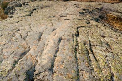 pierre de glissade